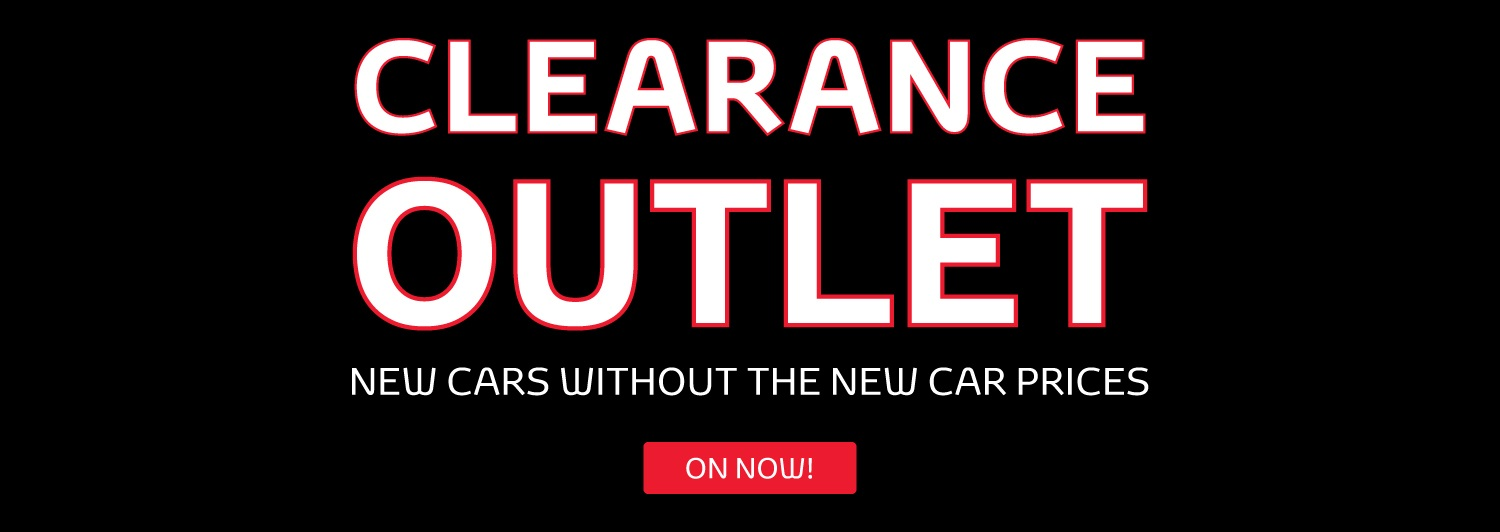 Clearance Outlet at Penrith Toyota